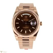 Rolex Day-Date II President 18K Rose Gold Men's Watch