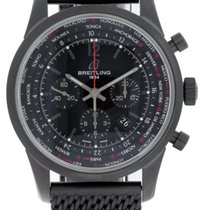 Breitling Transocean Unitime Pilot Blacksteel Limited Edition