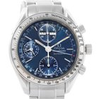 Omega Speedmaster Automatic Day Date Blue Dial Mens Watch...