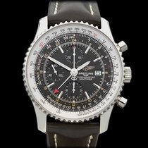 Breitling Navitimer World 24 Stainless Steel Gents A2432212/B7...
