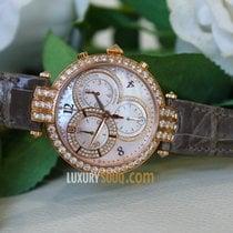 Harry Winston Premier Chronograph 18k Rose Gold Diamonds