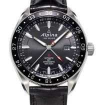 Alpina Modell: Alpiner 4 Automatic GMT inkl. Ersatzband NEU