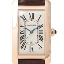 Cartier Tank Americaine 18 kt Rotgold Ref. W2609156