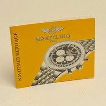 Breitling Navitimer Heritage Manual Info Booklet