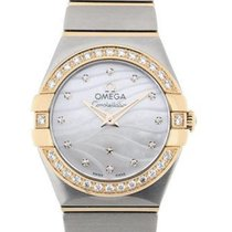 Omega Constellation 24 Gemstone Dual Tone