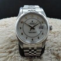 ロレックス (Rolex) DATEJUST 16014 SS Original White Enamel Arabic Dial