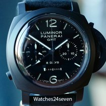 Panerai PAM 317 Luminor 1950 Monopulsante 8 Days GMT Ceramic 44mm