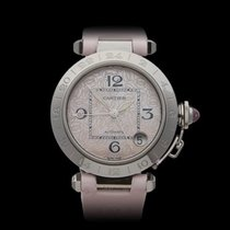 Cartier Pasha de Cartier Limited Pink Mother of Pearl Dial...