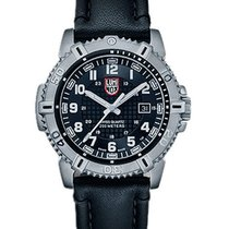 Luminox Mens Modern Mariner - Black Dial with Steel Case and...