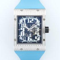 Richard Mille White Gold Extra-Flat Diamond Watch Ref. RM016