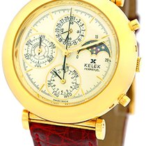 "Kelek ""Perpetual Calendar"" Chronograph Strapwatch."