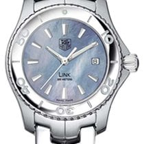 TAG Heuer Link Blue pearl dial  Lady