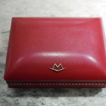 Movado vintage watch box red rare rare rare