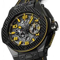 Hublot [NEW] Big Bang Ferrari 45mm 401.CQ.0129.VR Limited 1000...