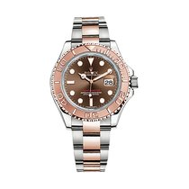 Rolex YACHT MASTER 40MM STEEL ROSE GOLD CHOCO DIAL