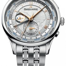 Maurice Lacroix Masterpiece Worldtimer Men's Automatic...