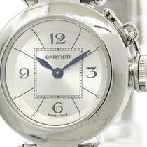 Cartier Miss Pasha Steel Quartz Ladies Watch W3140007 (bf089897)