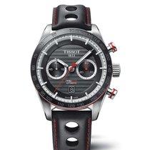 Tissot PRS 516 Chronografo automático correa de cuero
