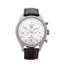 豪雅 (TAG Heuer) Carrera Diamond Bezel Stainless Steel Ladies...