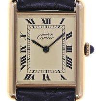 Cartier Mens Wristwatch Must de Cartier Tank
