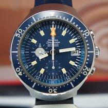 Omega Big Blue Seamaster 120 Minty Unpolished Vintage Chrono