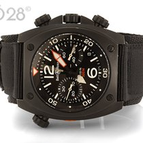Bell & Ross BR 02-94 Chronograph Stahl PVD 44 mm Papiere...