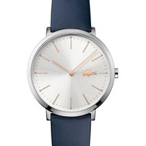 Lacoste Moon Ultra Slim Womens Watch - Blue Strap - Stainless...