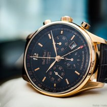 Paul Picot Gentleman 42 Chrono GMT 18k Rose Gold