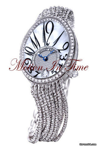 Breguet REINE de NAPLES WHITE GOLD DIAMONDS ON BRACELET