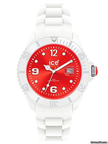 Ice Watch Sili White - Small White Red SI.WD.S.S.10