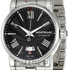 Montblanc Star Black Dial Stainless Steel Automatic Men...