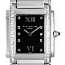 Patek Philippe Twenty-4 4910 / 10A Ladies Steel & Diamond...