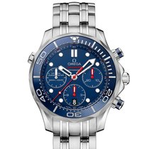 Omega SEAMASTER DIVER 300 M CO-AXIAL CHRONOGRAPH 42 MM
