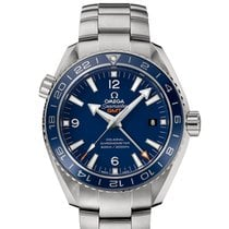 Omega [NEW] SEAMASTER PLANET OCEAN 600 M CO-AXIAL GMT 43.5 MM
