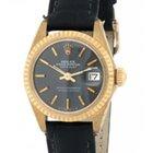 Rolex Datejust 6916 In Oro Giallo E Pelle, 26mm