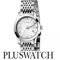 Gucci G-Timeless Silver Dial 27mm YA126501 T