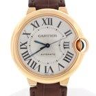 Cartier Ballon Bleu Midsize 36MM Rose Auto Watch W6900456