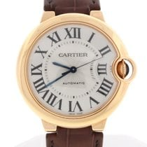 Cartier Ballon Bleu Midsize 36MM Rose Auto Watch W6900456