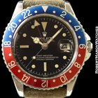 Rolex 1675 Gmt Gilt Gloss  Exclamation Chapter Dial Steel