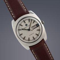Universal Genève Unisonic steel watch
