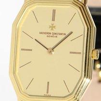 Vacheron Constantin elegant, flat 18k gold gent's wristwat...