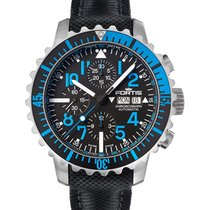 Fortis Aquatis Marinemaster Chrono 42mm Swiss Auto Watch 200m...