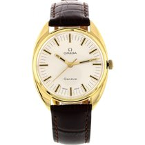 Omega Men's Vintage Omega Geneve 18K Yellow Gold Watch