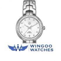 TAG Heuer Link Lady Automatico Ghiera Diamanti Ref. WAT2314.BA...