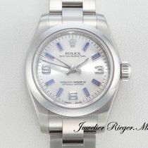 Rolex OYSTER PERPETUAL 176200 EDELSTAHL AUTOMATIK Lady
