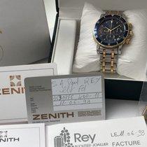 Zenith Full Set - Zenith el Primero Rainbow Steel Gold with...