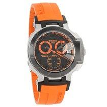 Tissot T-Race Series Mens Orange/Blk Quartz Chronograph Watch...