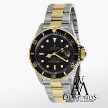 Rolex Men's Rolex Submariner 40mm 18k 2-tone Gold &...