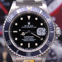 Rolex Oyster Perpetual Submariner Black Ref : 16610 (near Mint)