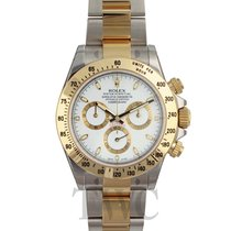 Rolex Daytona White/18k gold Ø40mm - 116523